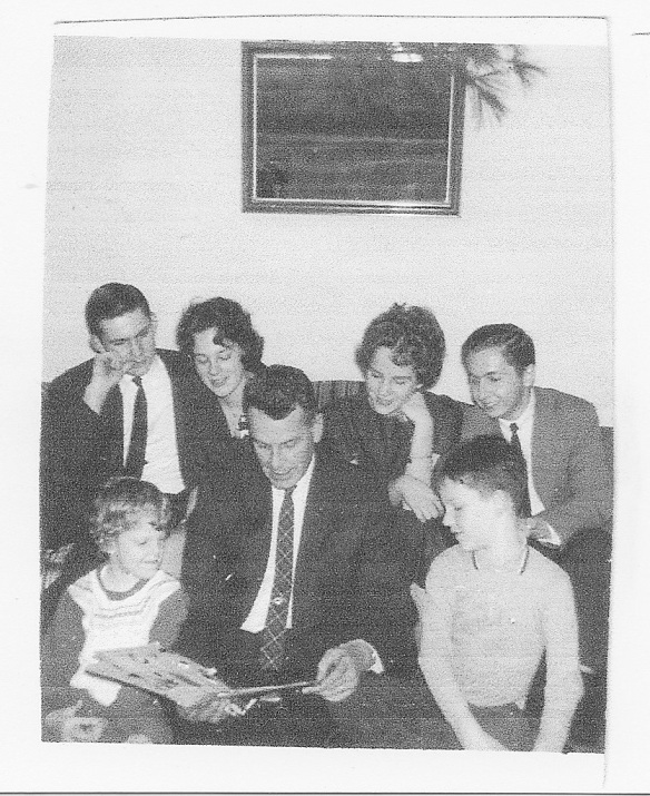 Guthrie Family Christmas 1961with Elisabeth, George Shanks and Turan Morali from TH61