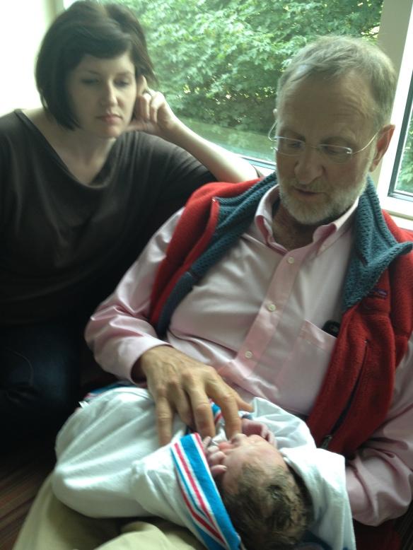 Aunt Meghan and Grandpa Peter
